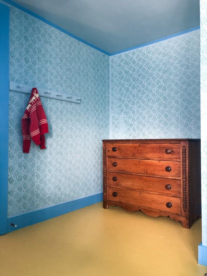 Why It's Completely O.K. To Have Painted Plywood Floors In A Bedroom