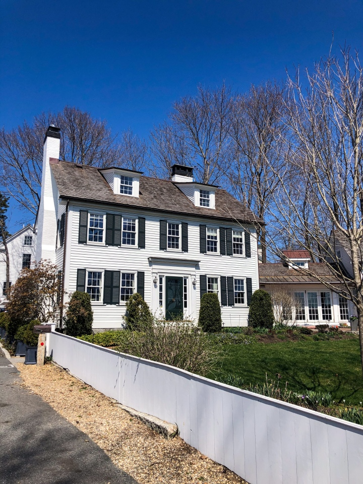 Classic White House Exteriors in NewEngland