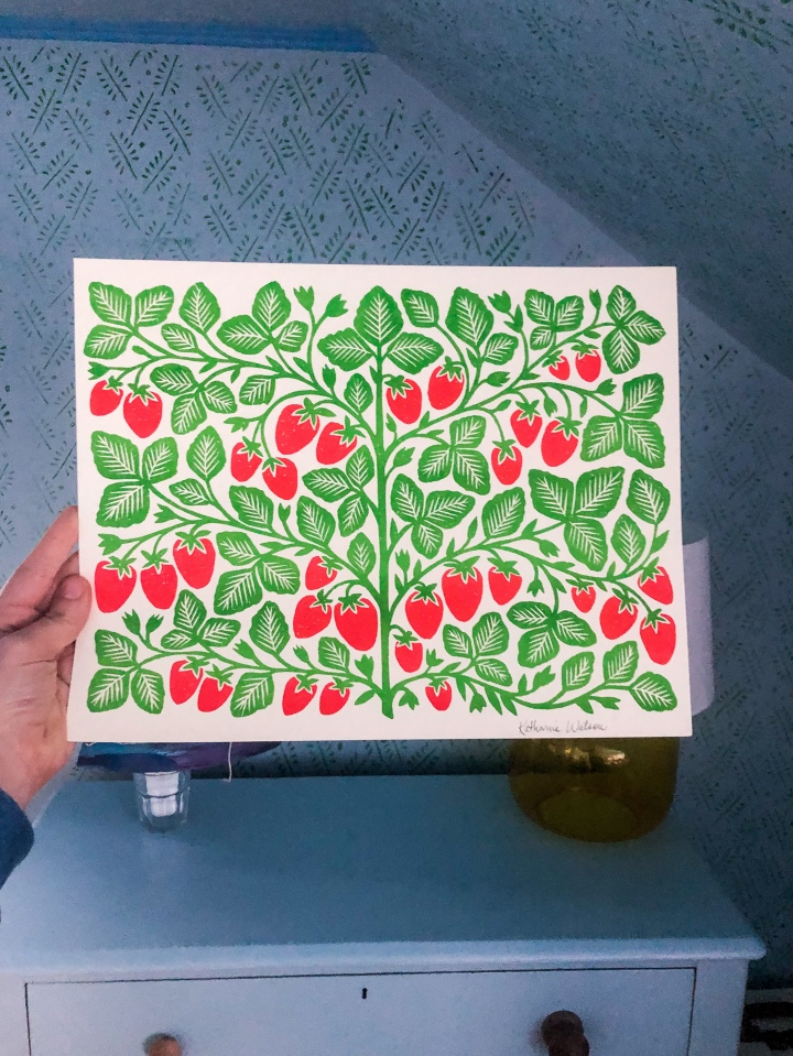 Artist Katharine Watson on Her Garden Series Prints