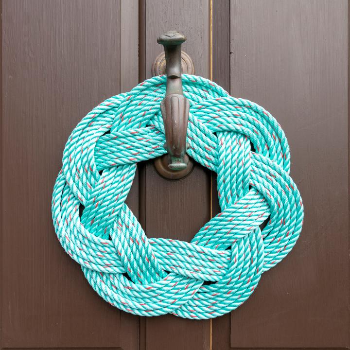 Colorful Rope Sailors' KnotWreaths